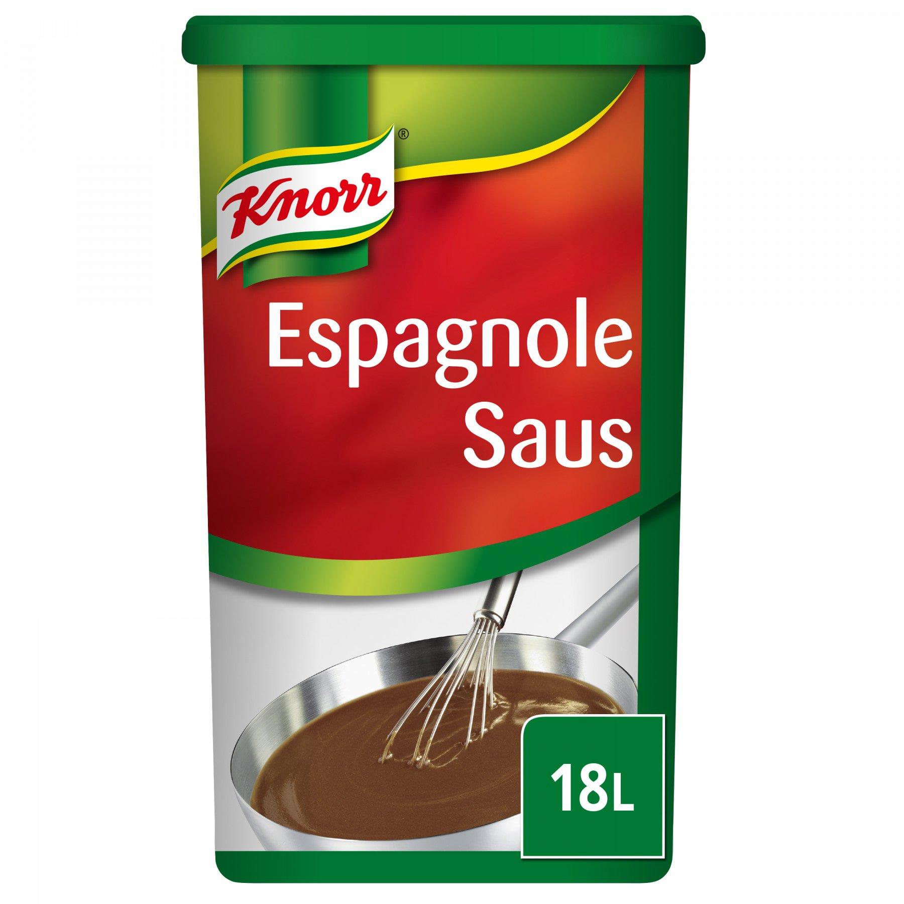 Knorr | Espagnole saus | 18 liter