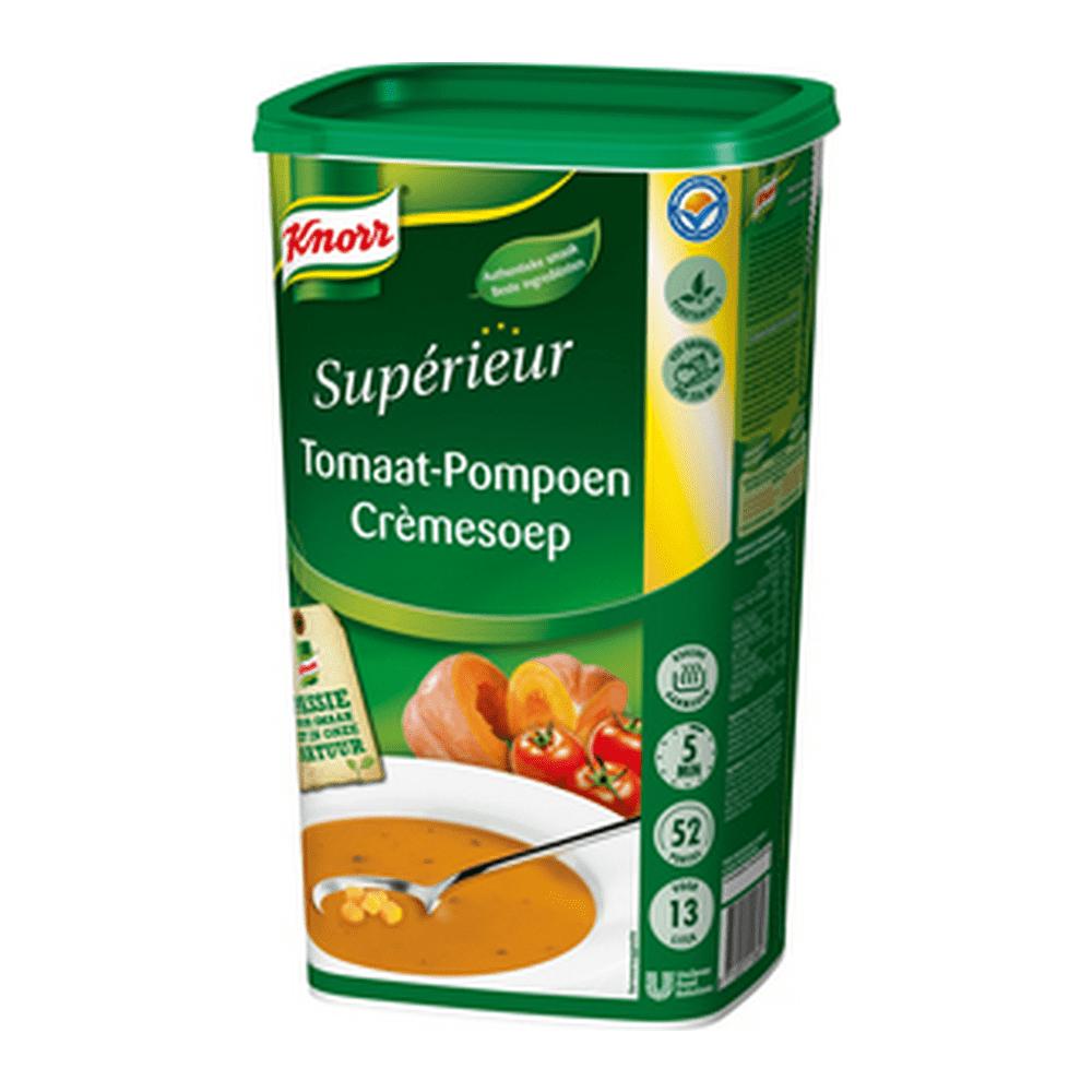 Knorr   Superieur   Tomaat-pompoencrème   13 liter