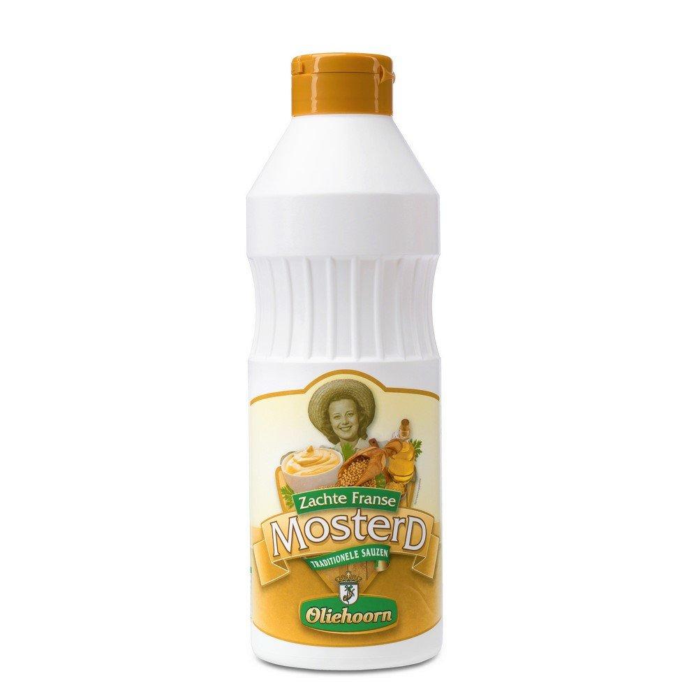 Oliehoorn | Mosterd | Fles 6 x 900 ml