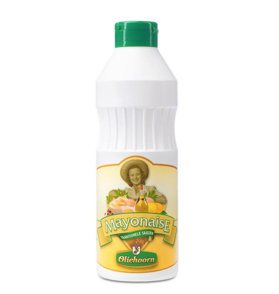 Oliehoorn | Mayonaise 80% | Fles 6 x 900 ml