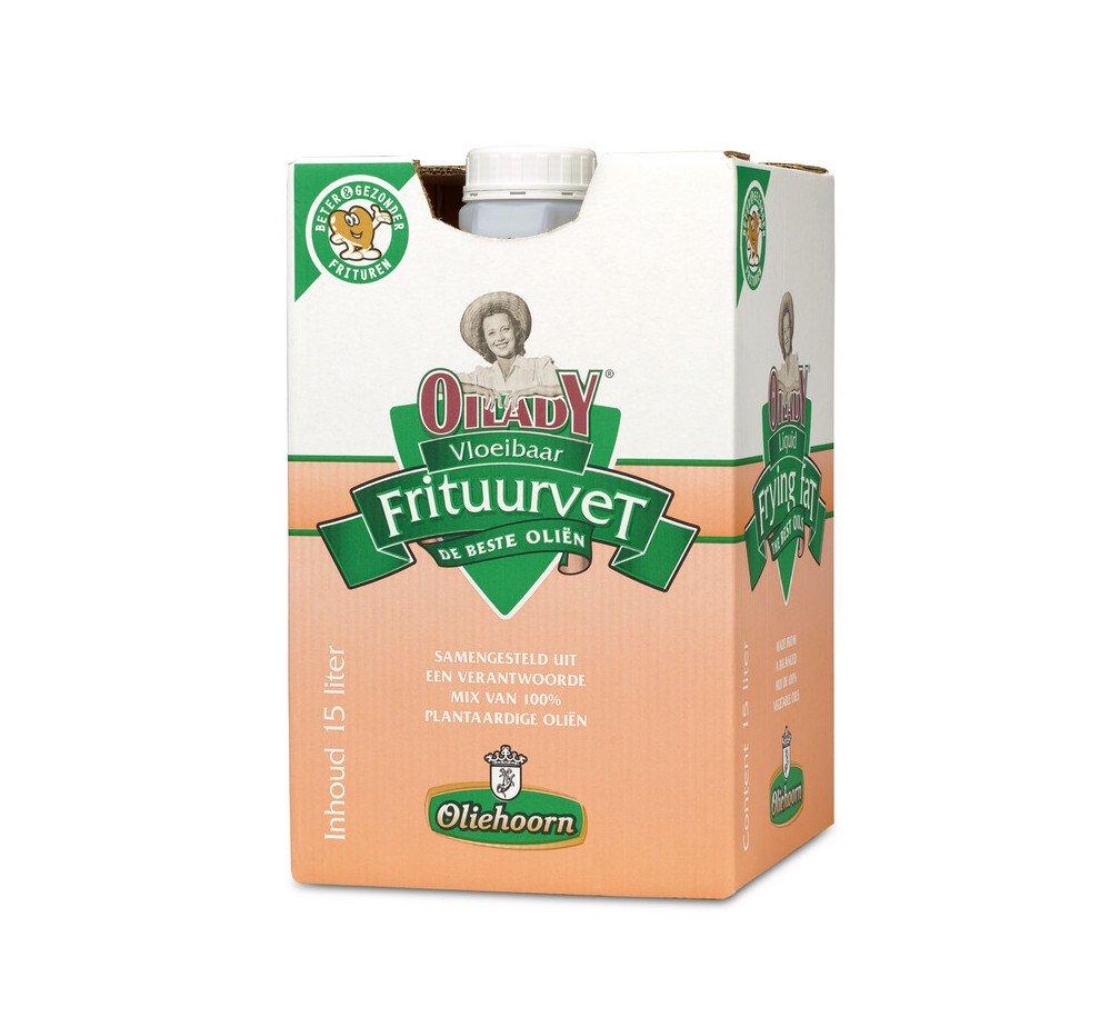 Oliehoorn | Vloeibaar frituurvet | 15 liter