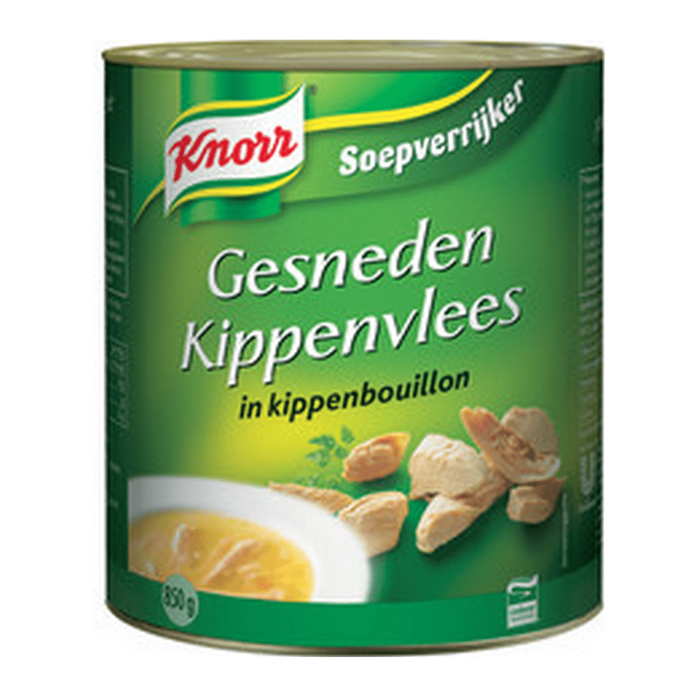 Knorr | Gesneden kippenvlees | 6 x 850 gram