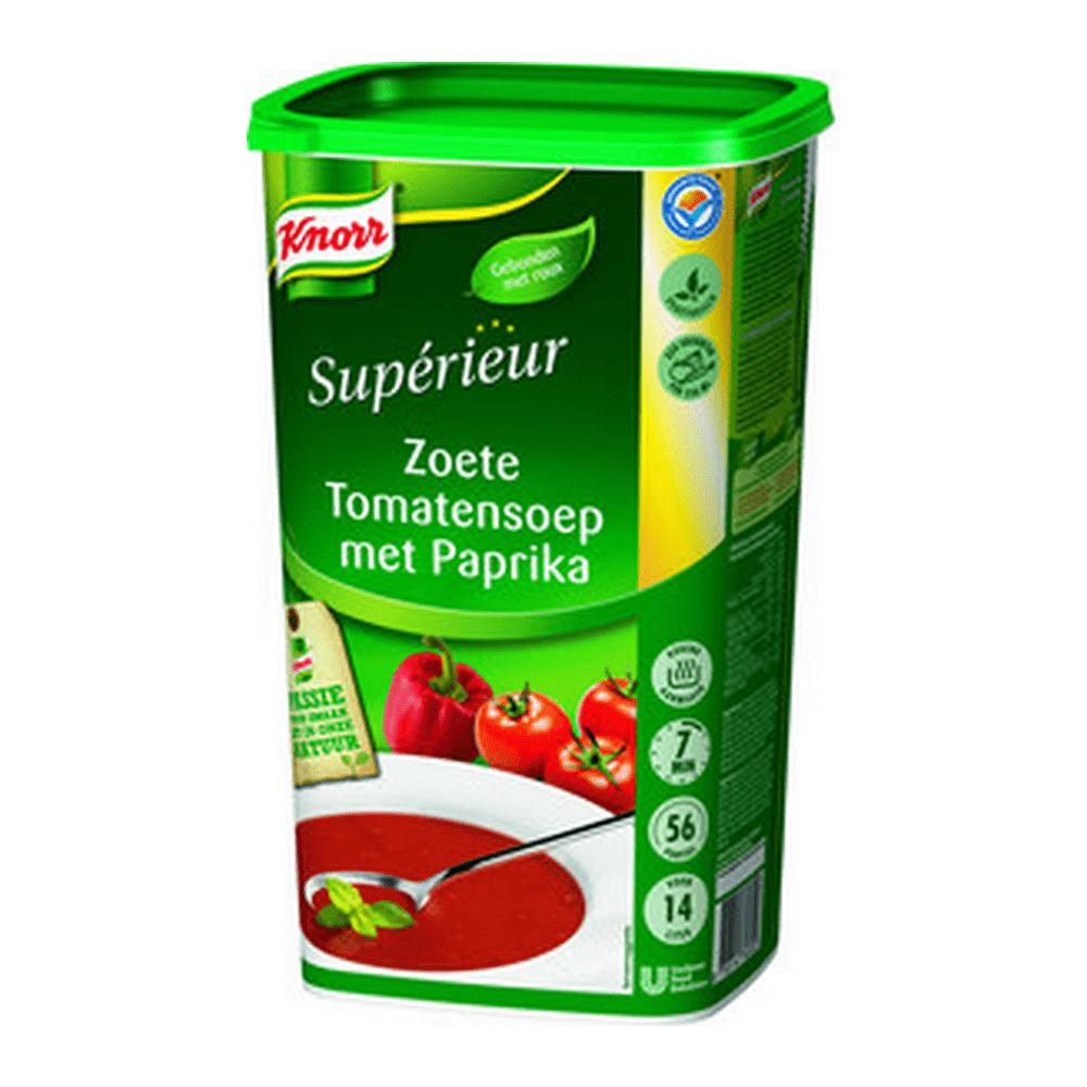 Knorr   Tomaten-paprikasoep   14 liter