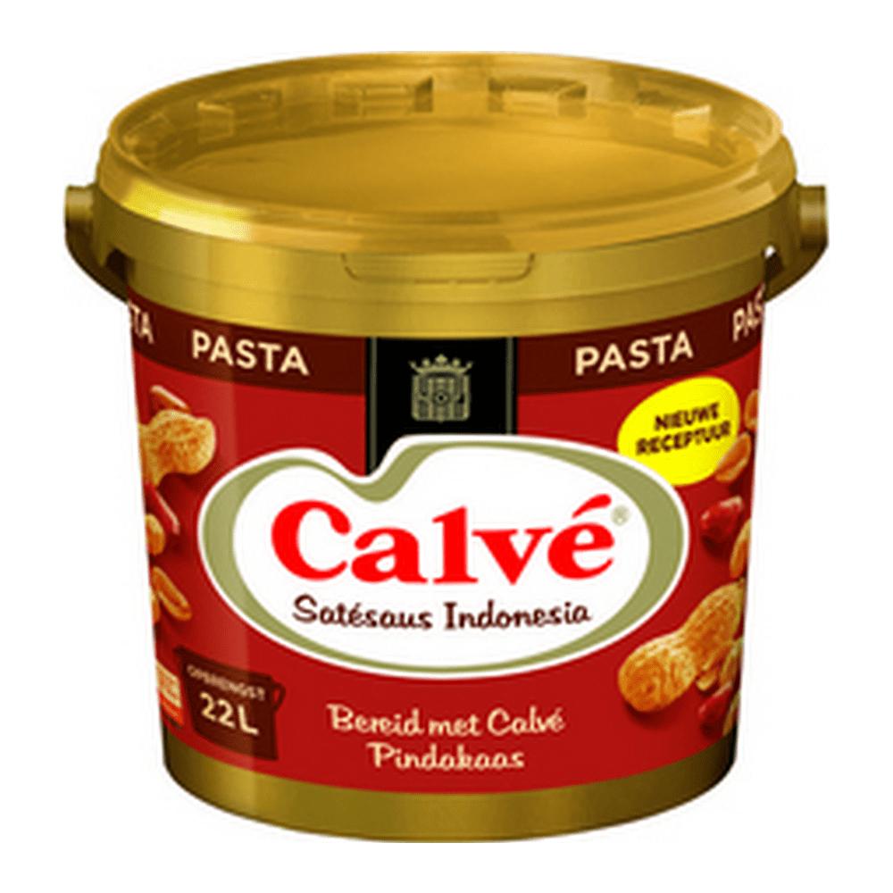 Calvé | Satésaus Indonesia pasta | Emmer 10 kg
