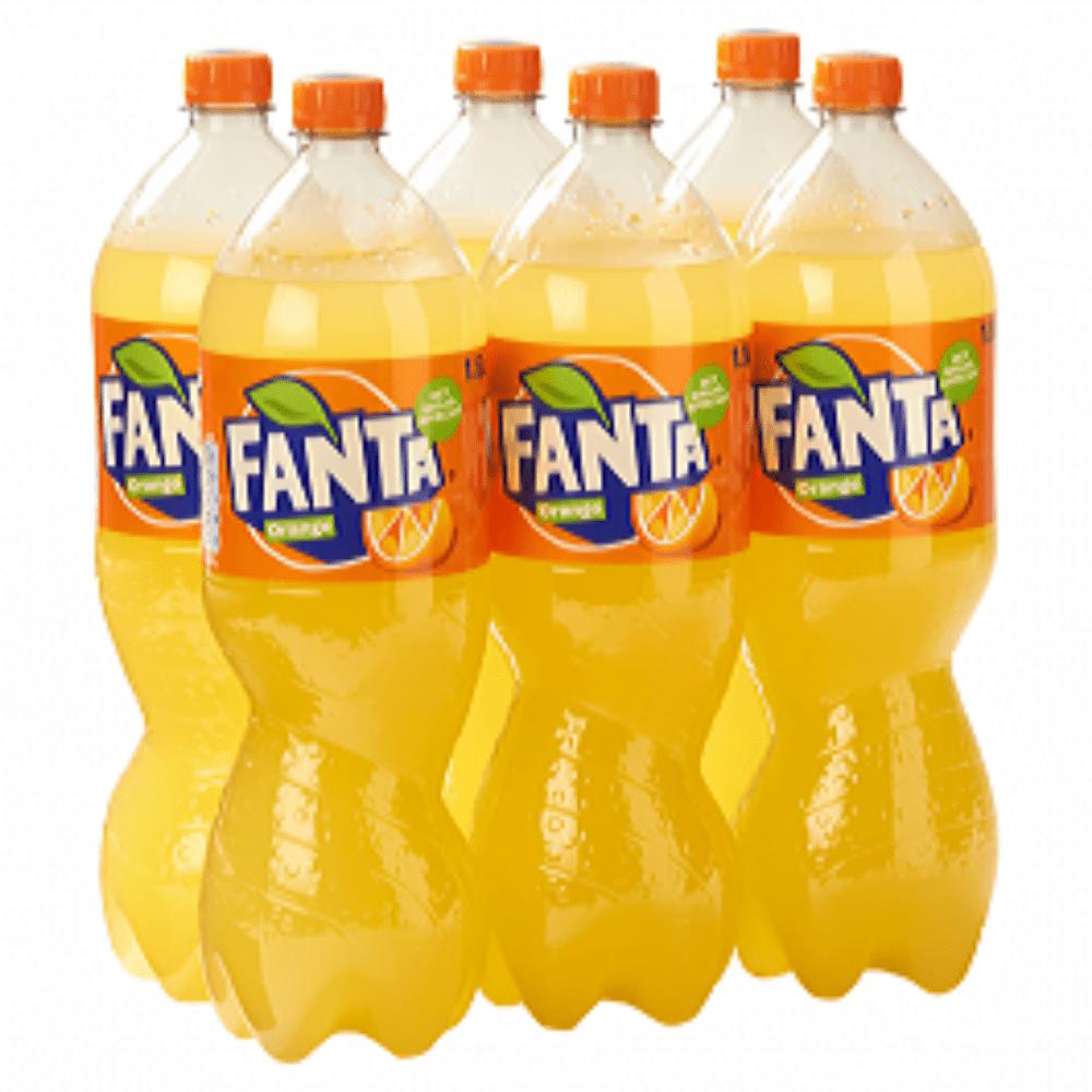 Fanta Orange | Petfles 6 x 1,5 liter