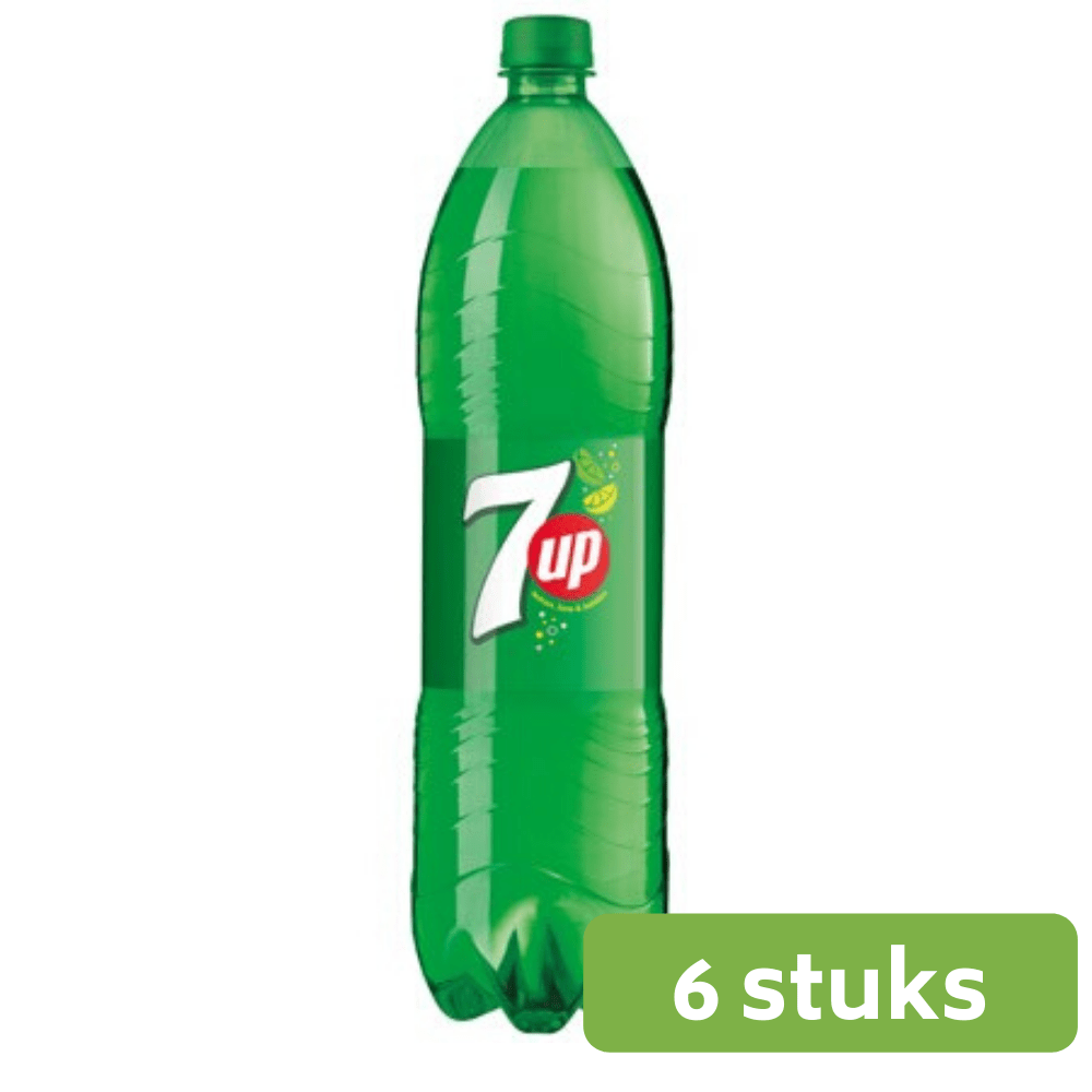 Seven Up | Petfles 6 x 1,5 liter