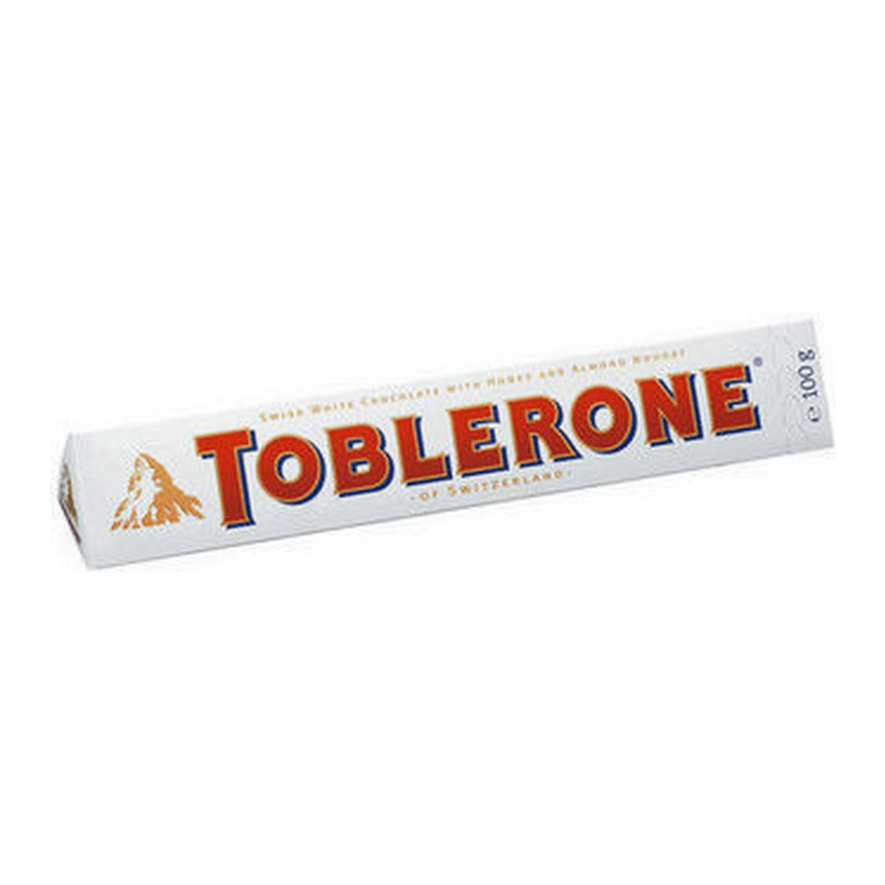 Toblerone wit 100 gr 20 repen
