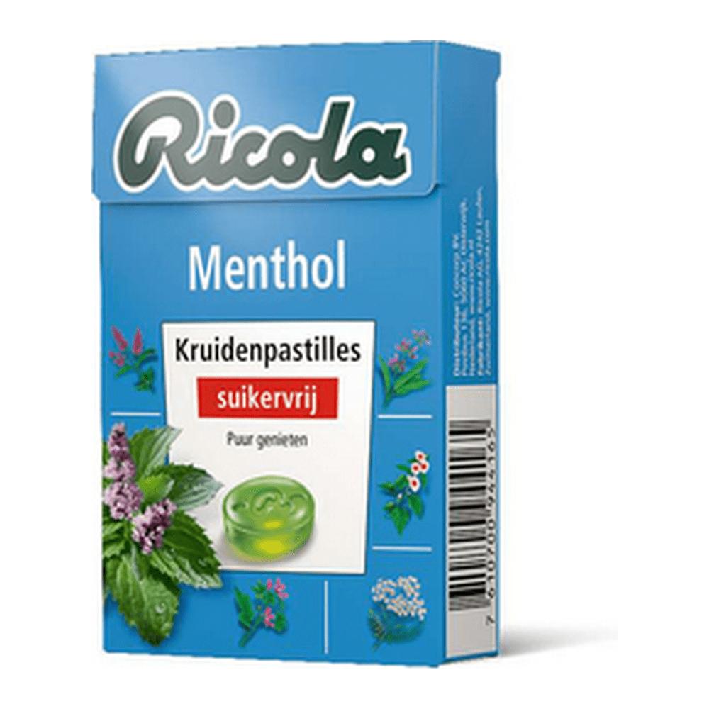 Ricola | Menthol suikervrij | 20 x 50 gram