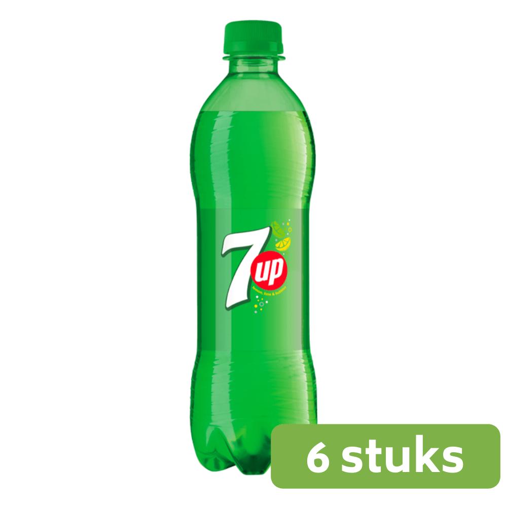 7Up Regular | Petfles 6 x 0,5 liter