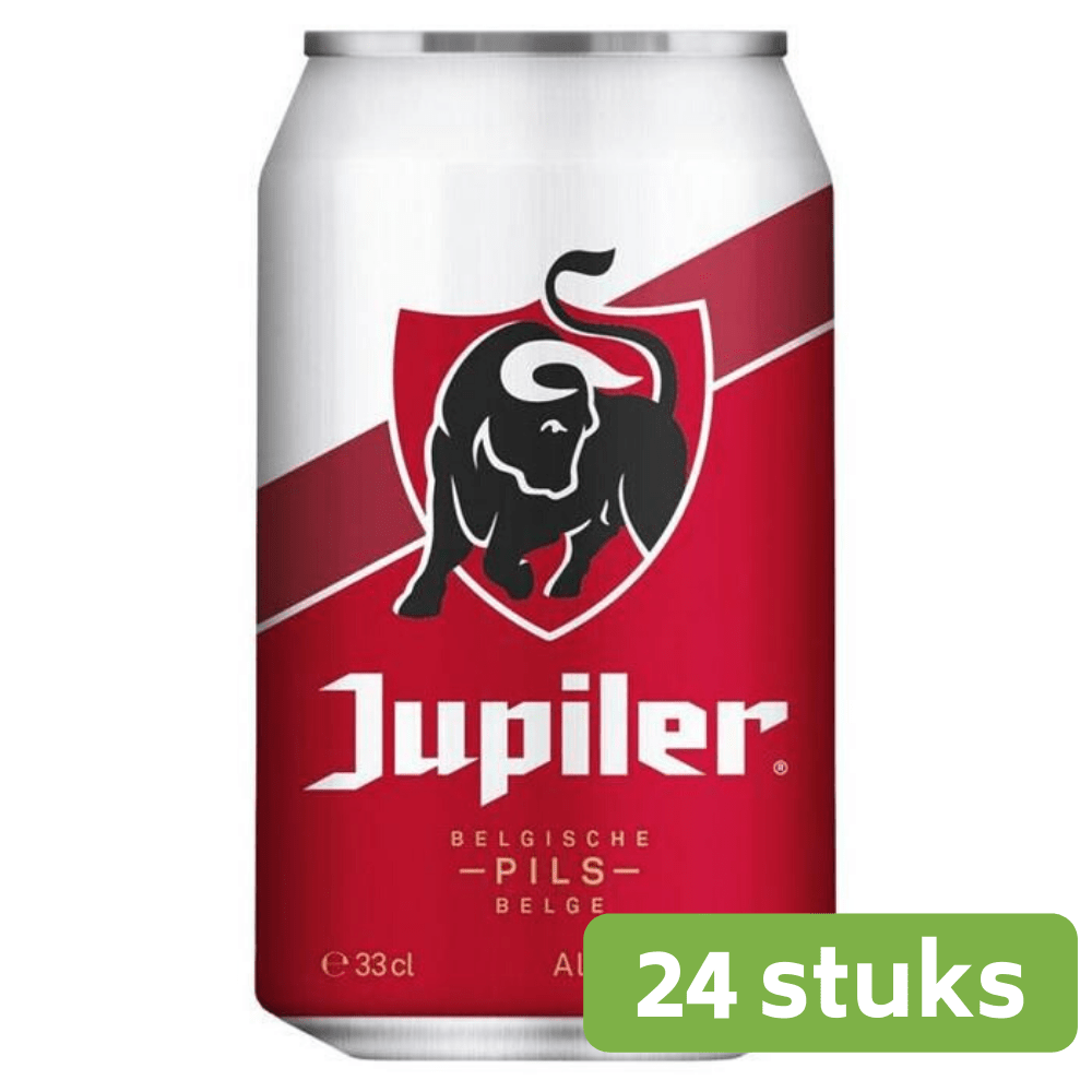 Jupiler bier 33 cl 24 blikjes