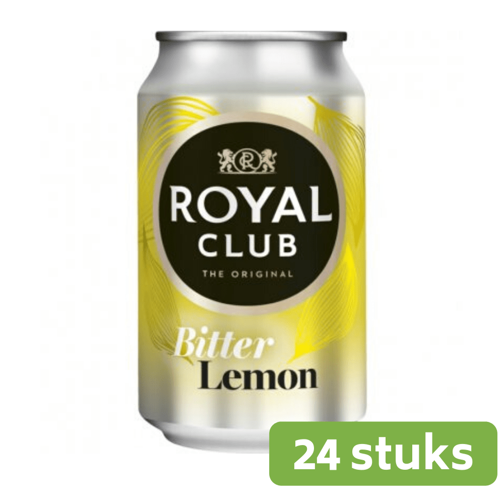Royal Club Bitter Lemon | Blik 24 x 33 cl