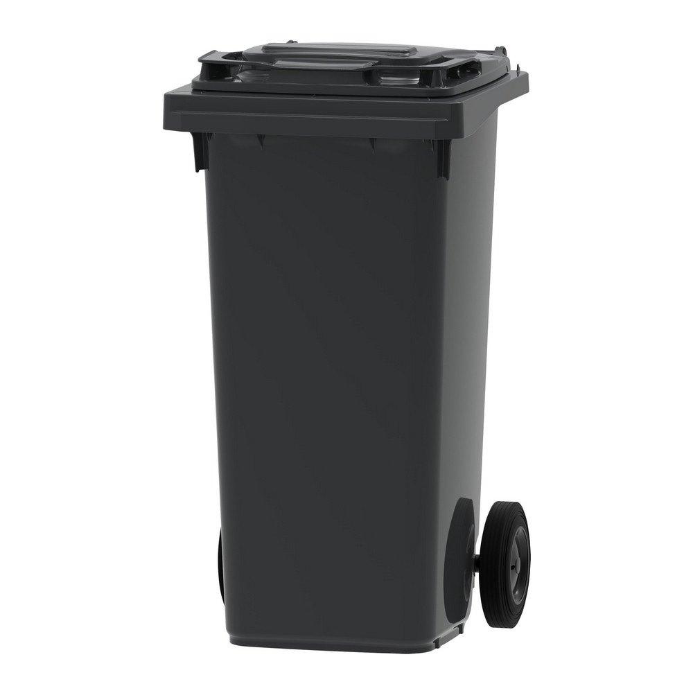Mini rolcontainer 120 liter grijs