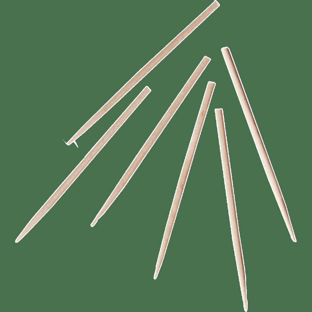 Biodore® Prikker cocktailprikker Hout 60 mm