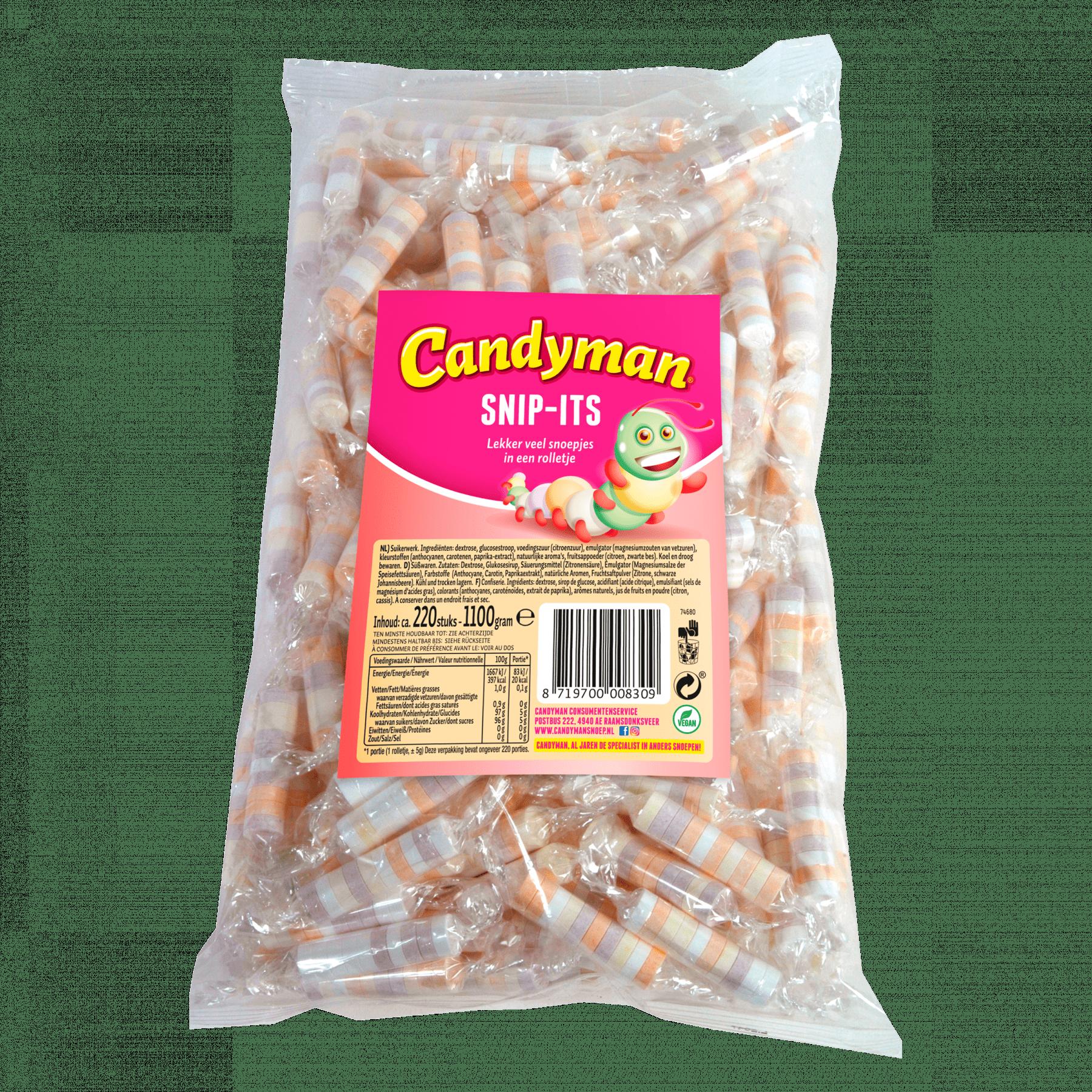 Candyman | Snippits | 220 stuks