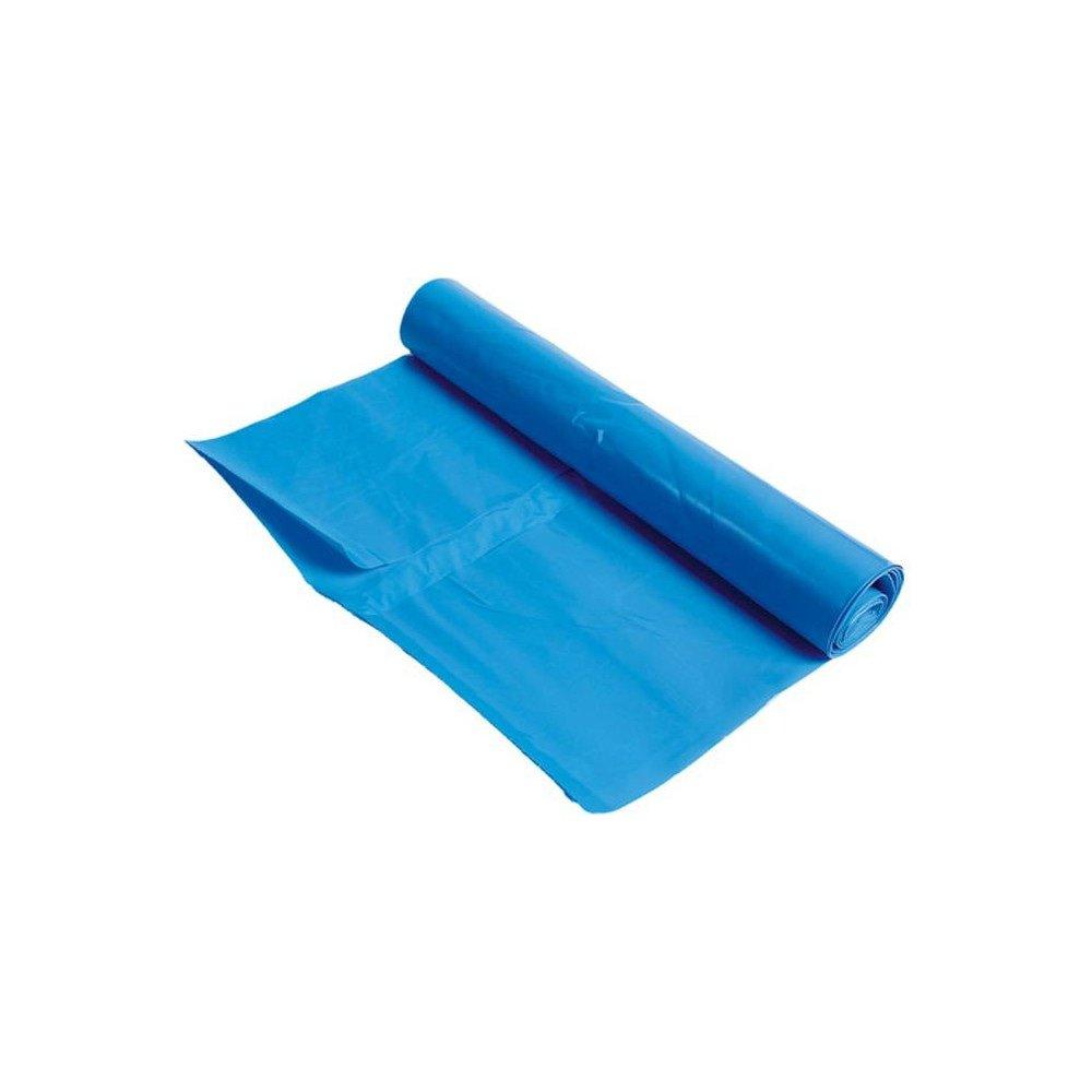 Afvalzak LDPE 90x110cm Blauw T70 à 100 stuks