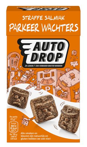 Autodrop   Parkeerwachters   6 x 250 gram