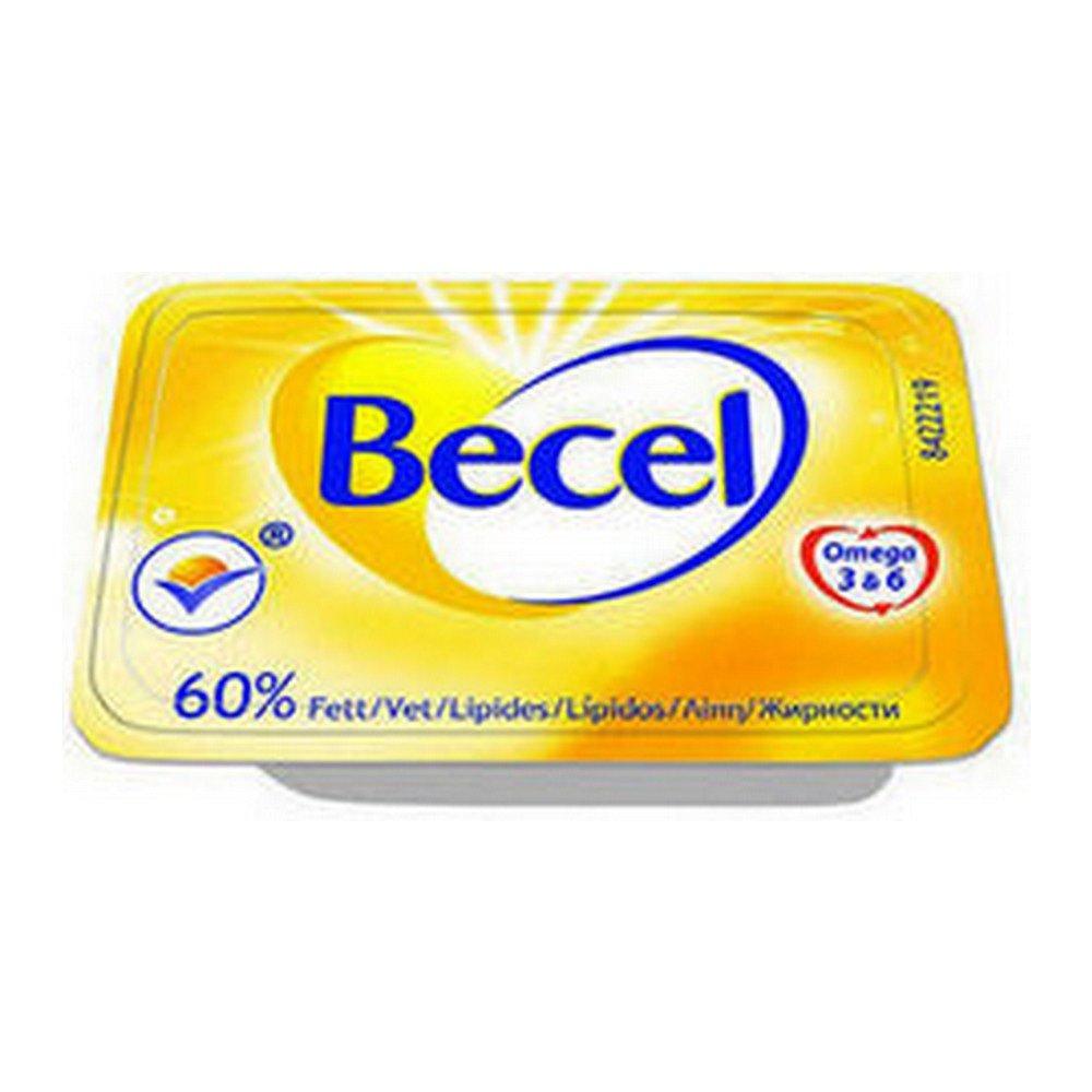 Becel 60% dieet kuipjes mono 10 gr. 200 stuks