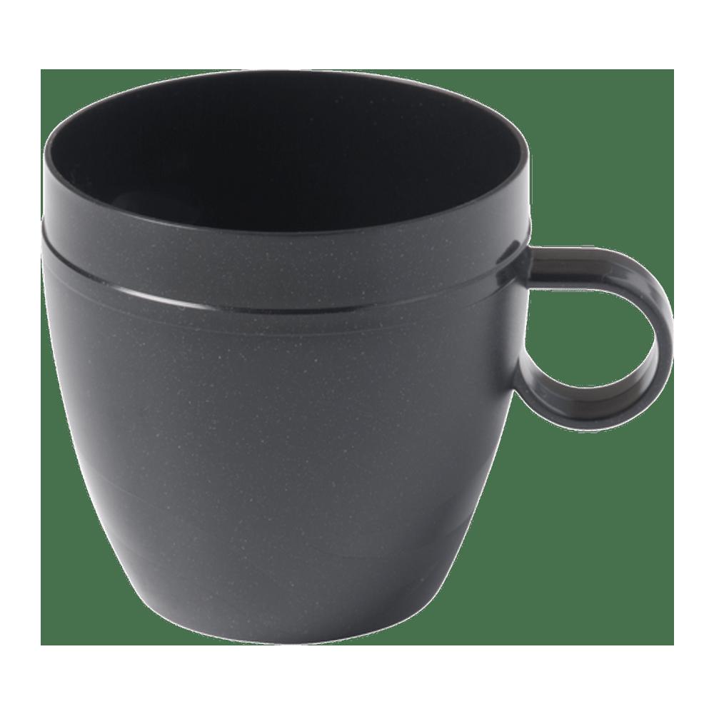 Bekerhouder voor inzetbeker 150 ml zwart 24 stuks