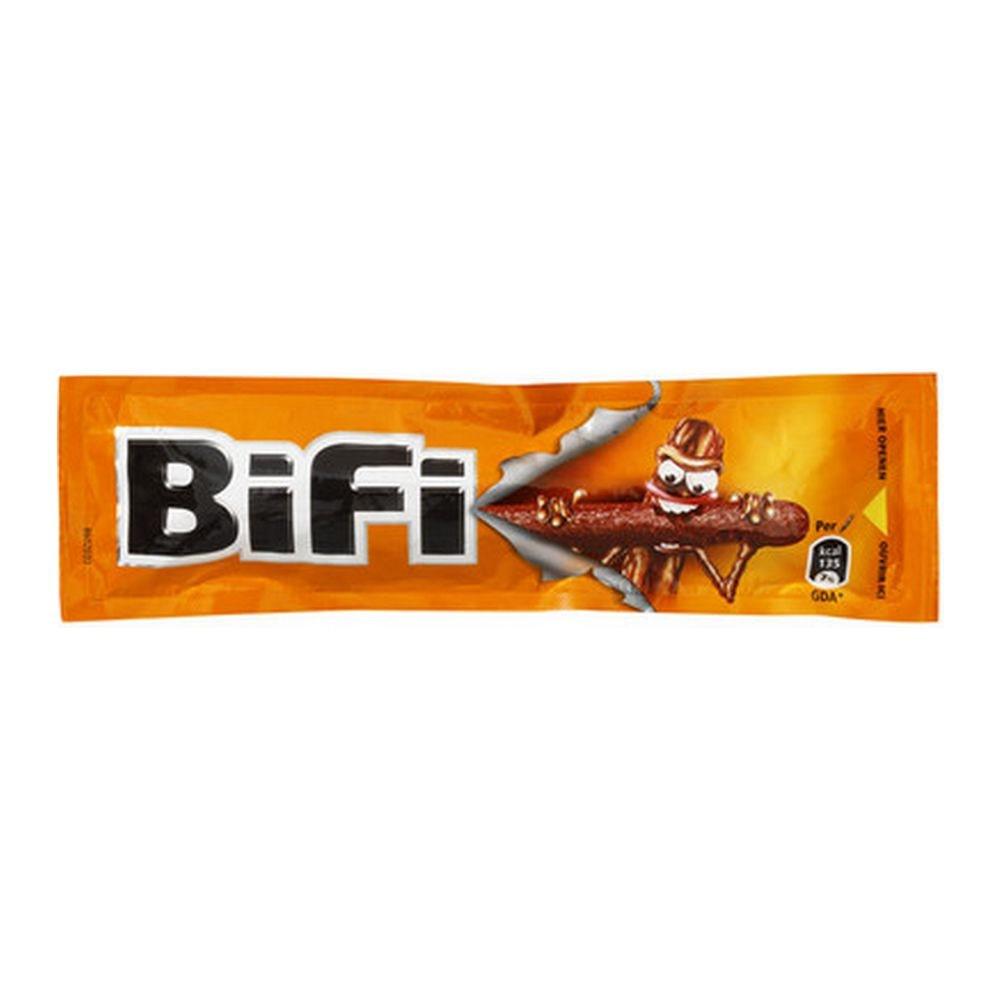 Bifi Bierworst mono, 25 gram à 40 stuks