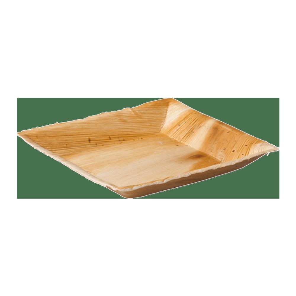 Biodore Bord Palmblad 18 x 18 cm 4 x25 stuks