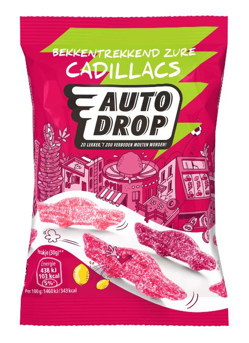 Autodrop | Zure Cadillacs | 16 x 30 gram