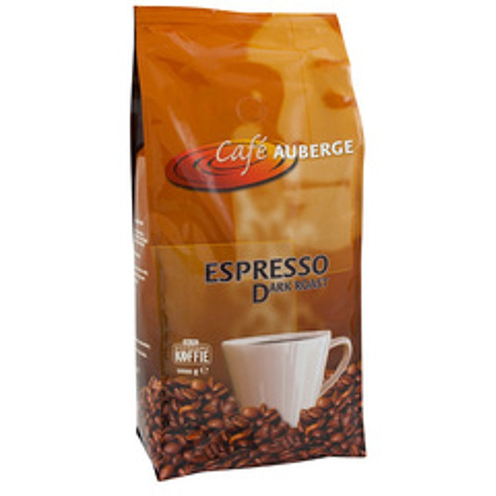 Café Auberge | Dark Roast | Koffiebonen | Zak 8 x 1 kg