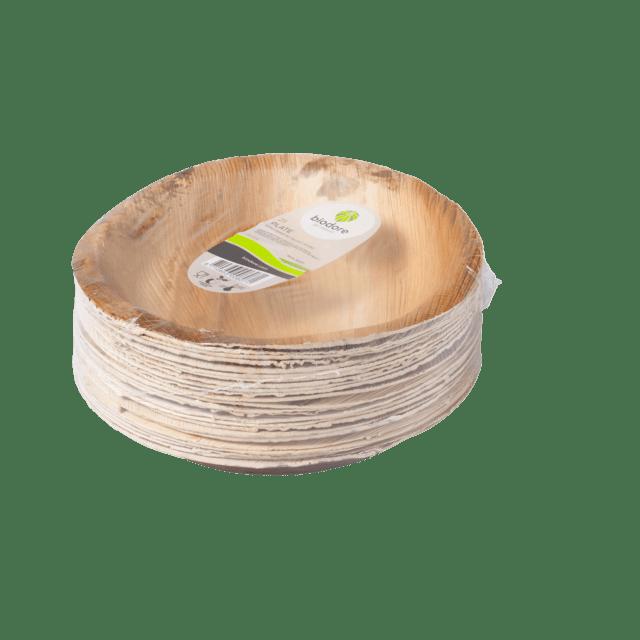 Biodore Bord Palmblad 24 cm 4 x 25 stuks