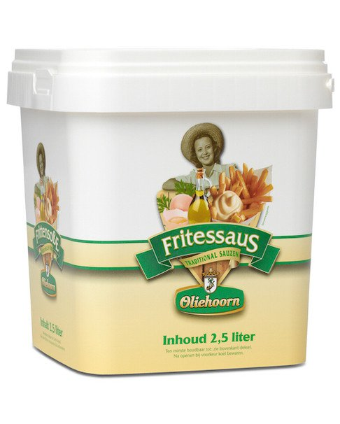 Oliehoorn | Fritessaus 25% | Emmer 2,5 liter