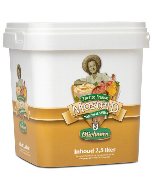 Oliehoorn | Mosterd | Emmer 2,5 liter