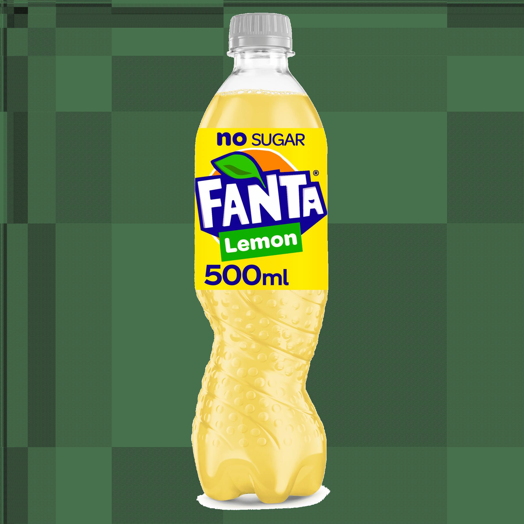 Fanta Zero Lemon | Petfles 12 x 0,5 liter