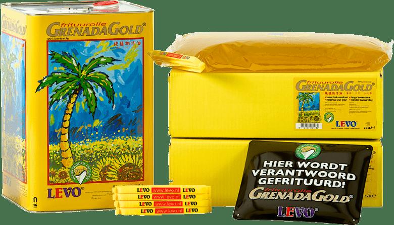 Levo | Grenada Gold | Frituurolie | Jerrycan 20 liter