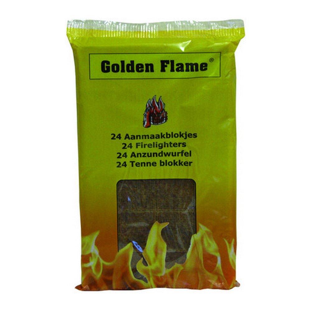 Golden Flame | Aanmaakblokjes | 24 x 24