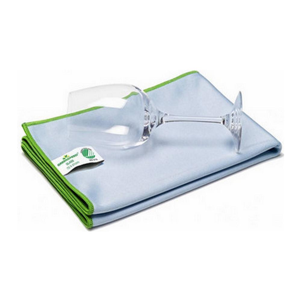 Greenspeed glasdoek 40x40 cm blauw