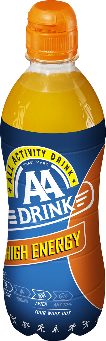 AA Drink High Energy | Petfles 12 x 0,5 liter
