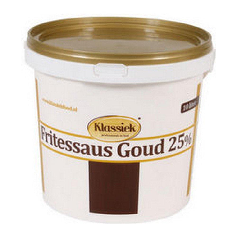 Klassiek Fritessaus Gold 25% emmer 10 liter