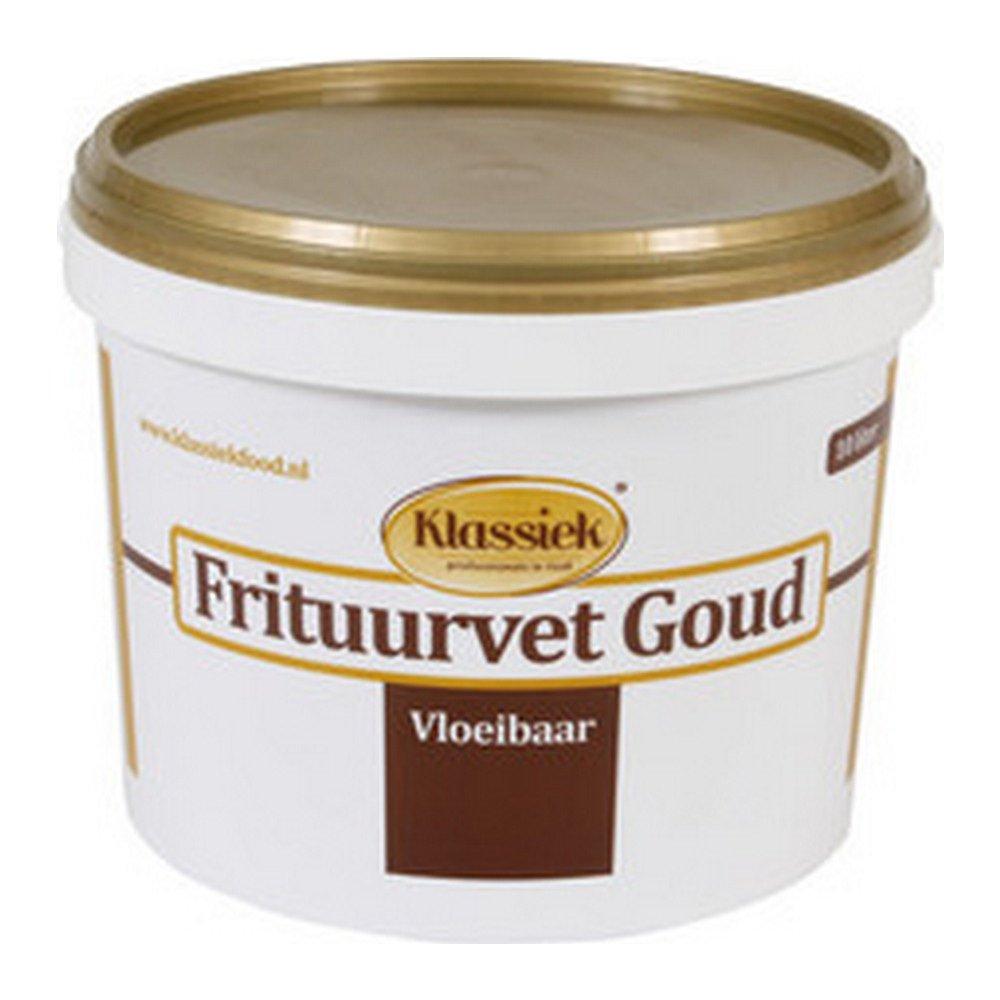 Klassiek Briljant vloeibaar frituurvet emmer 10 liter