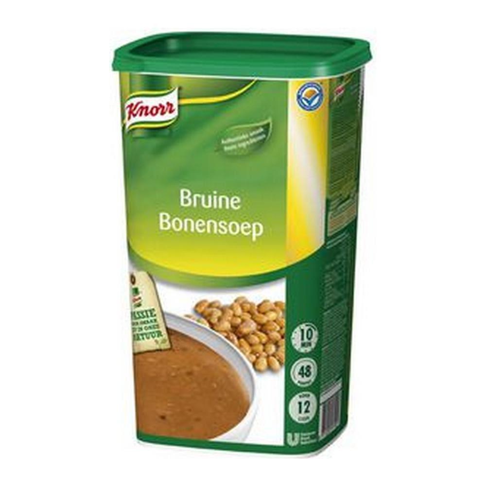 Knorr   Bruine Bonensoep   12 liter