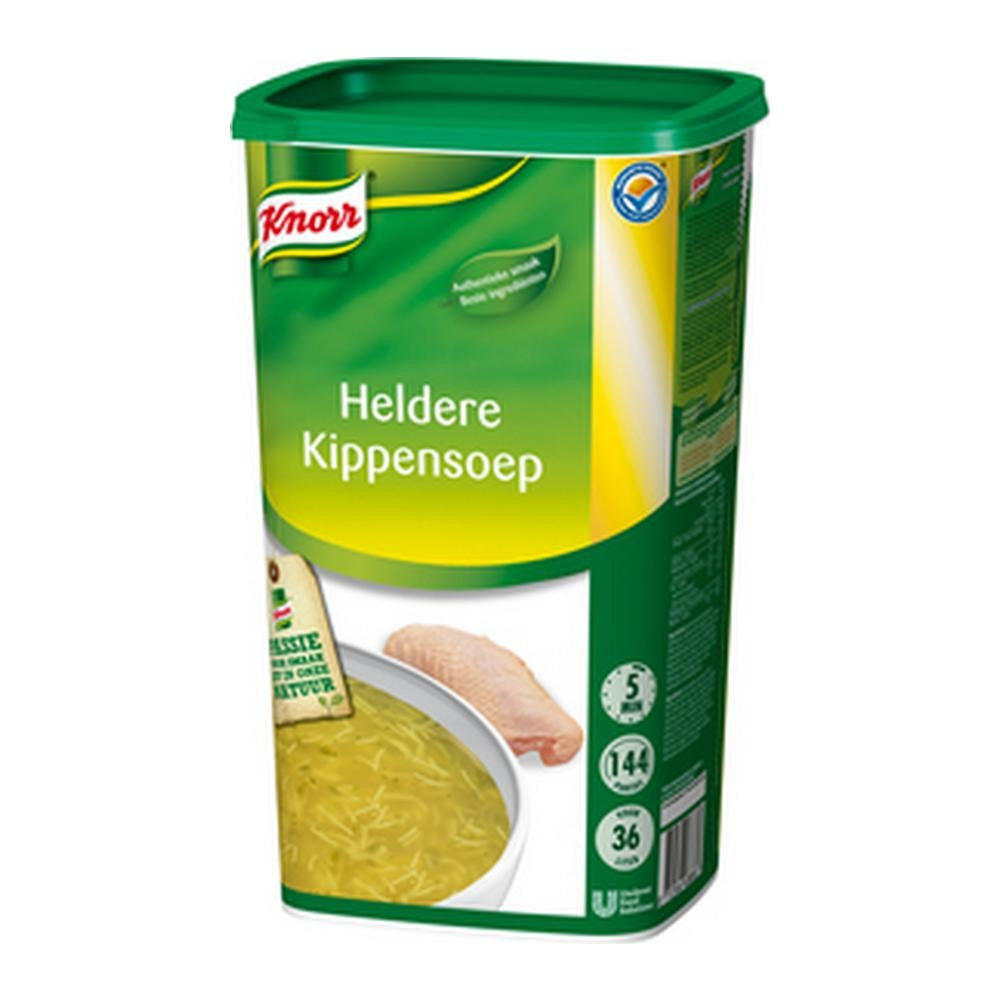 Knorr | Heldere Kippensoep | 38 liter