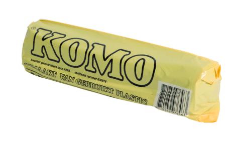 Komo | Afvalzak | 60 x 80 cm | Inhoud: 60 liter | 20 x 20 stuks