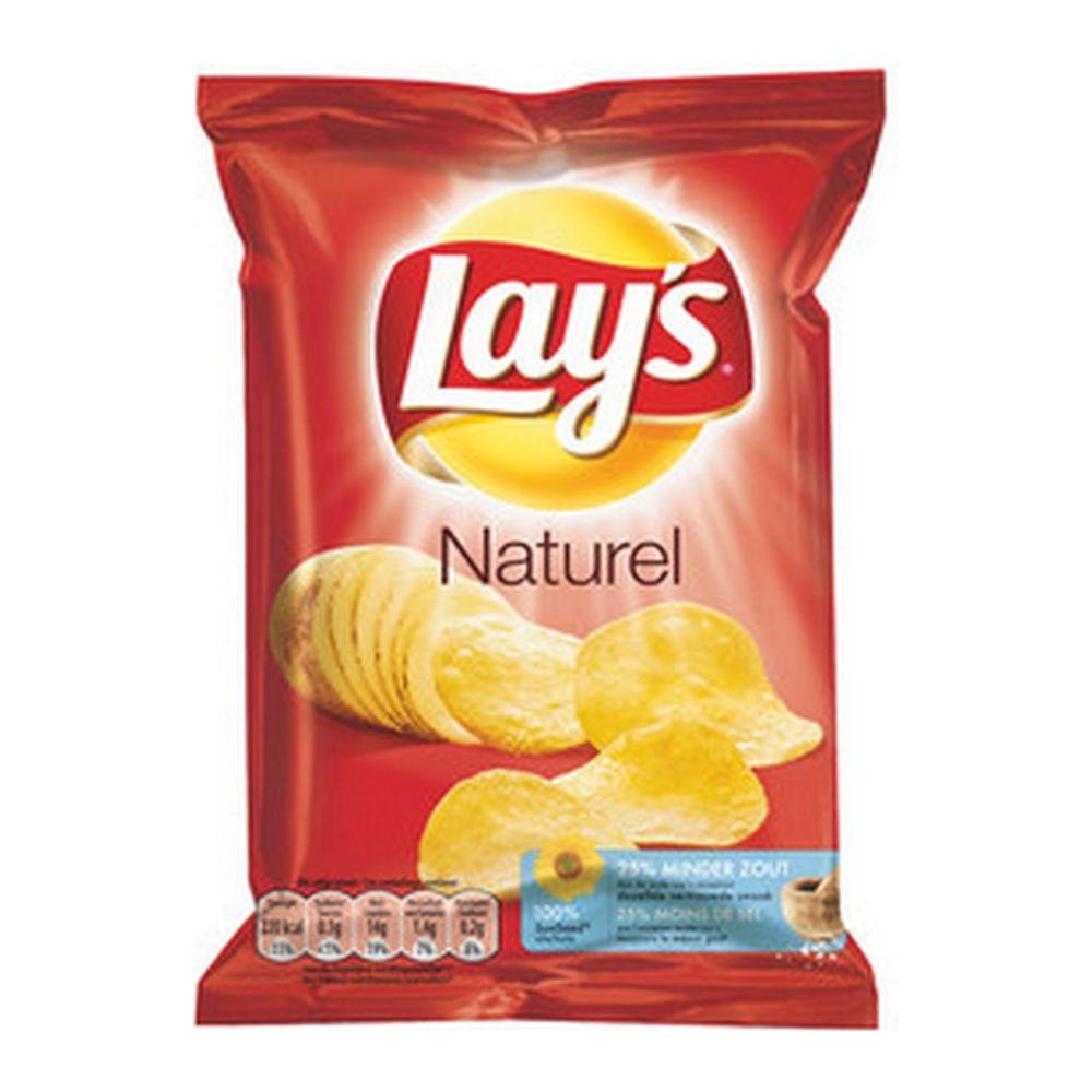 Lays Naturel 40 gram 20 stuks
