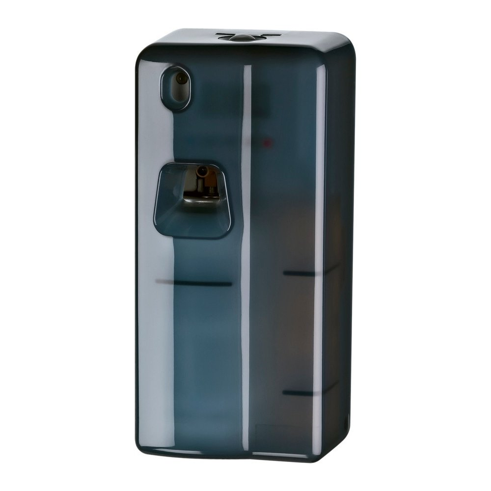 Microburst luchtverfrisser dispenser instelbaar zwart