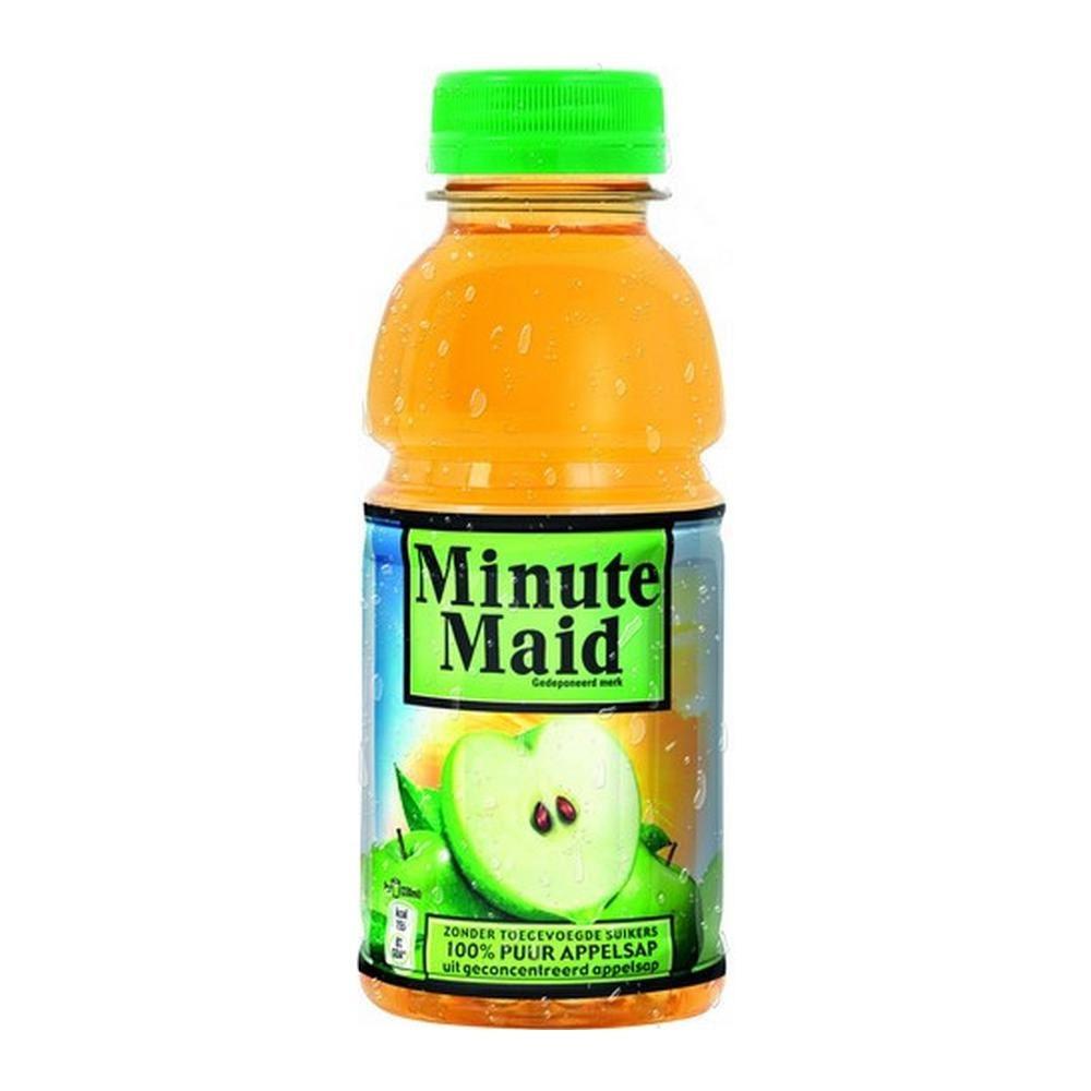 Minute Maid Appelsap | Petlfes 24 x 0,33 liter