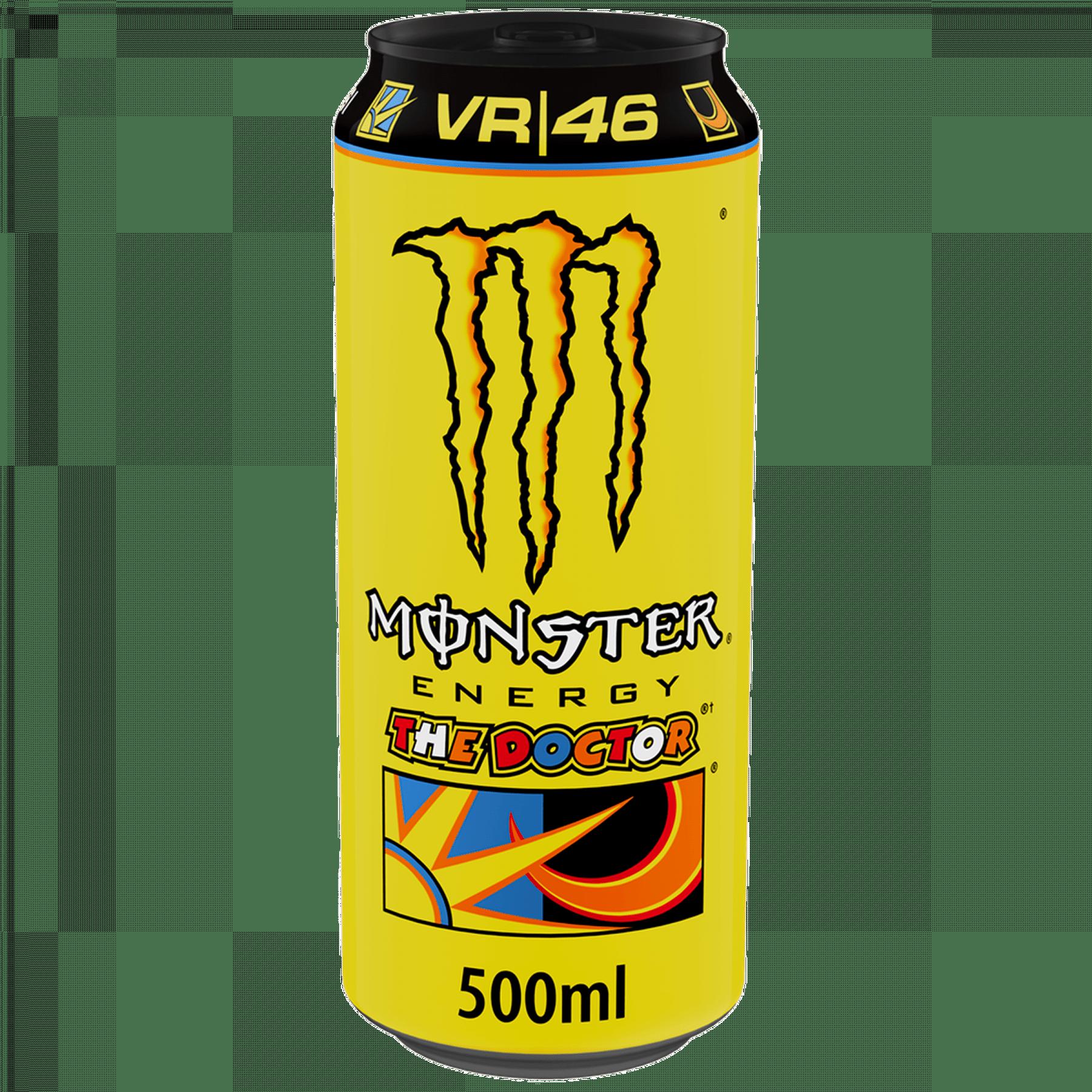 Monster Energy The Doctor Valentino | Blik 12 x 0,5 liter