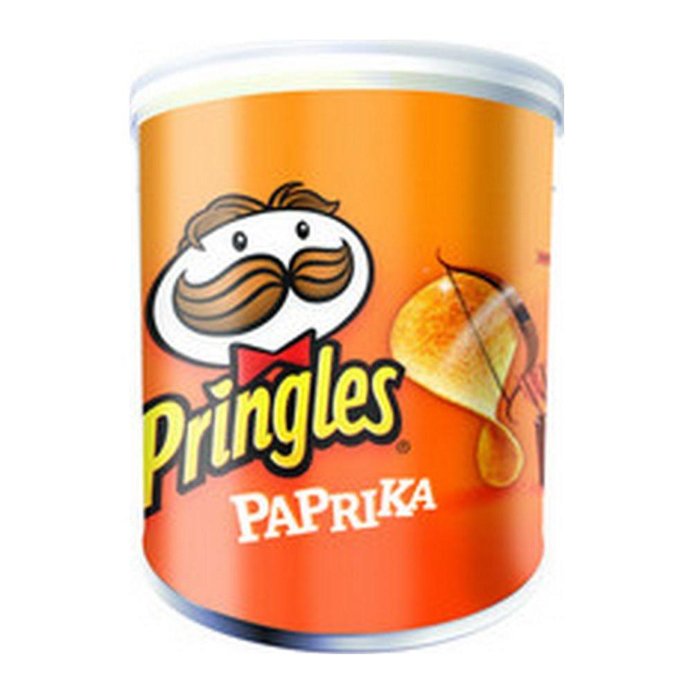 Pringles Paprika, 12 stuks