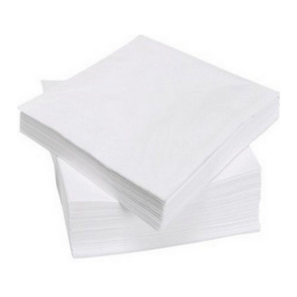 Servetten wit, 33cm 500 stuks