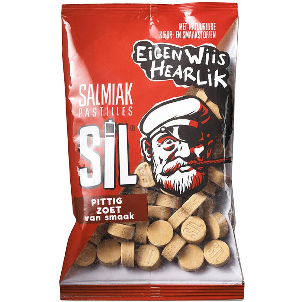 SIL | Salmiak pastilles | 16 x 200 gram