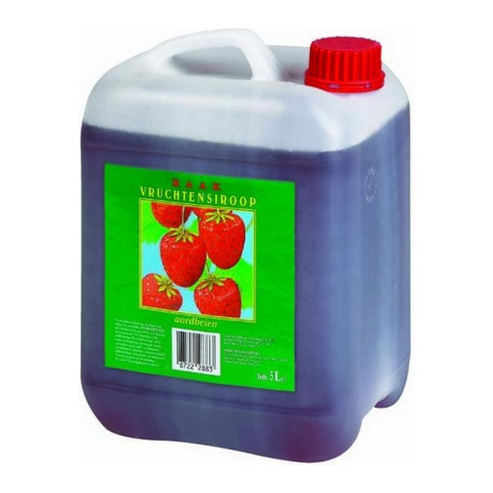 Siroop Aardbei | 1 x 5 liter