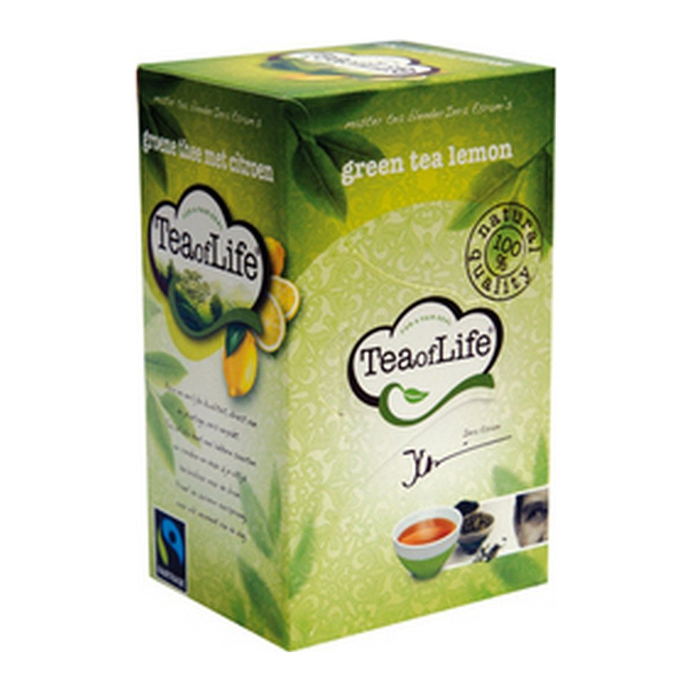 Tea of Life Green Tea Lemon 80 zakjes