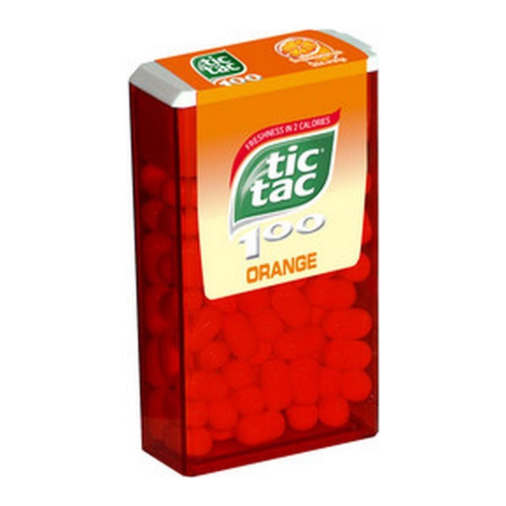 Tic Tac | Orange T100 | 16 stuks
