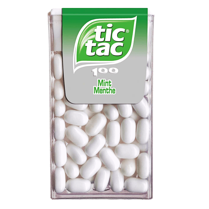 Tic Tac | Mint T100 | 16 stuks